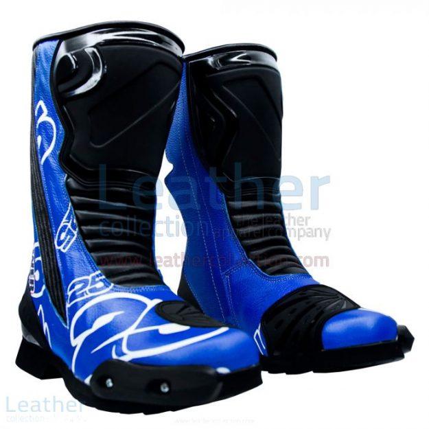 Order Now! Maverick Vinales MotoGP 2015 Leather Boots