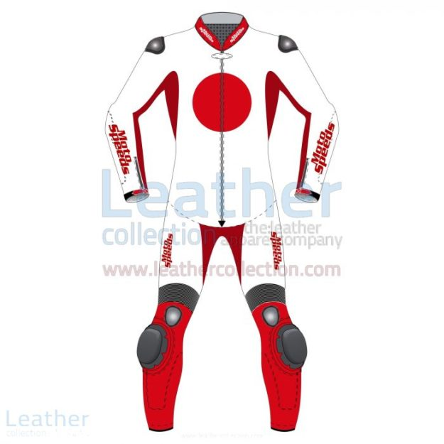 JAPAN FLAG CUSTOM MADE LEATHER SUIT