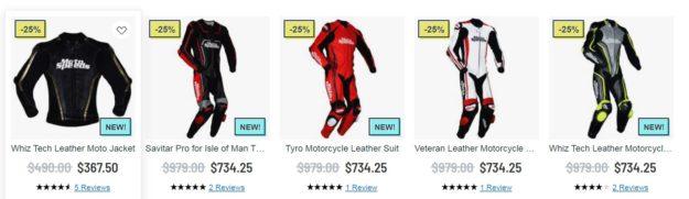 Custom race suits