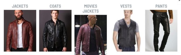 leather clothing store