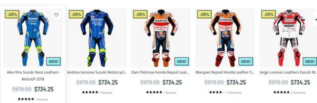 Motogp racing suit