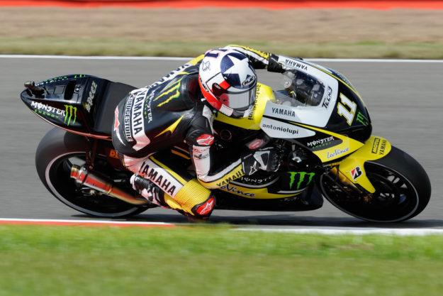 Ben Spies MotoGP 2010 with Monster Yamaha Tech 3