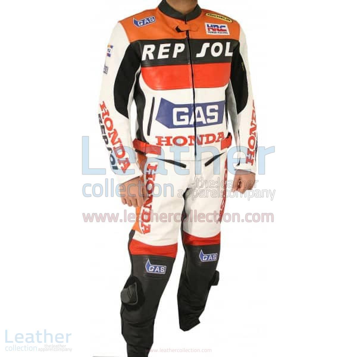 Honda Repsol Gas Leather Suit