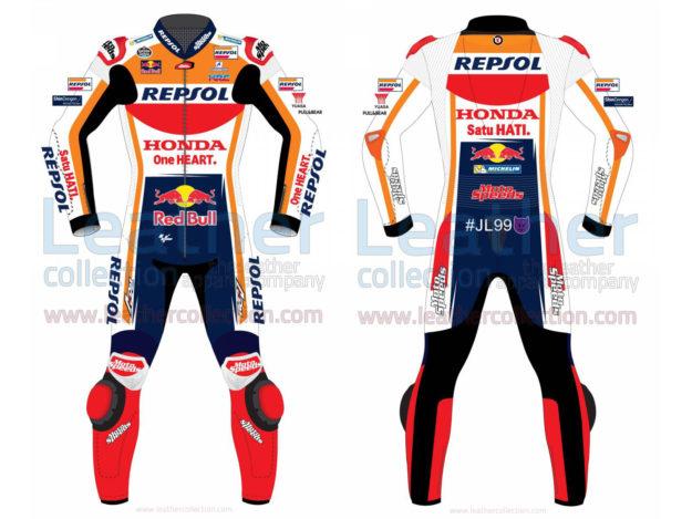 JORGE LORENZO HONDA REPSOL MOTOGP 2019 RACE SUIT