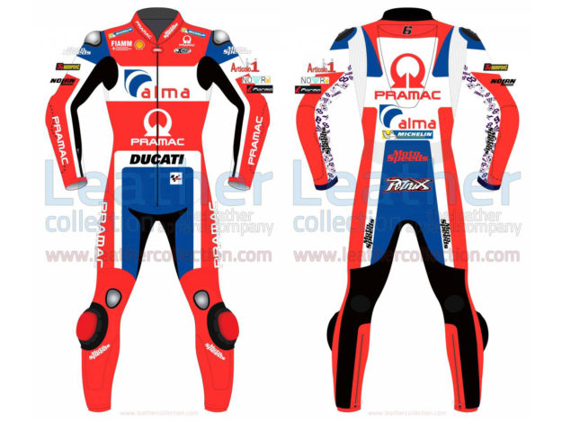 DANILO PETRUCCI DUCATI MOTOGP 2018 MENS LEATHER SUIT