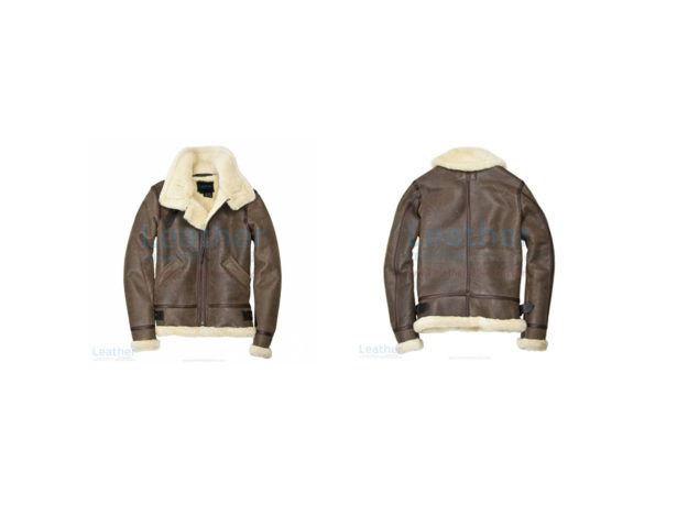 HOODED FUR LEATHER BOMBER JACKET WOMENS