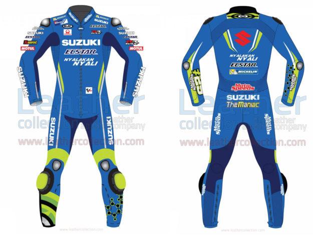 Andrea Iannone Suzuki MotoGP 2018 Leather Suit