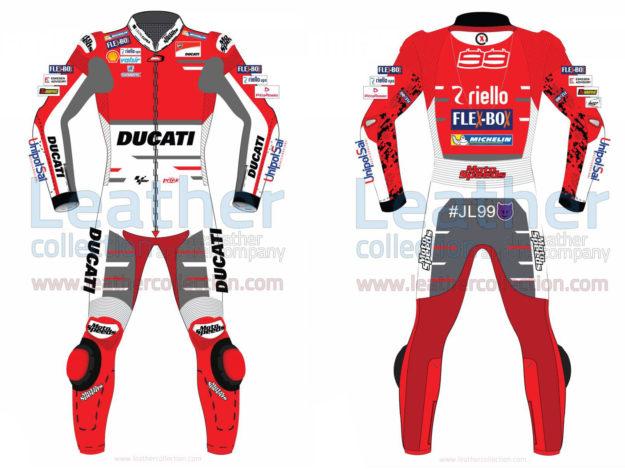 Jorge Lorenzo Ducati MotoGP 2018 Leather Suit