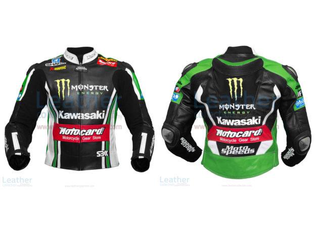 Tom Sykes Kawasaki 2015 SBK Leather Jacket