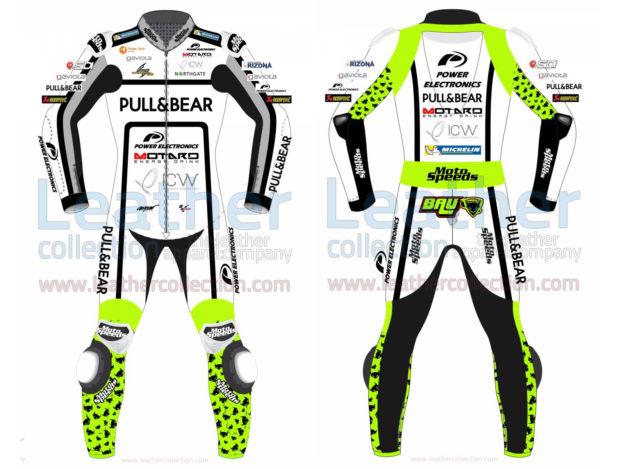 Alvaro Bautista Pull&Bear Ducati MotoGP 2017 Leather Suit