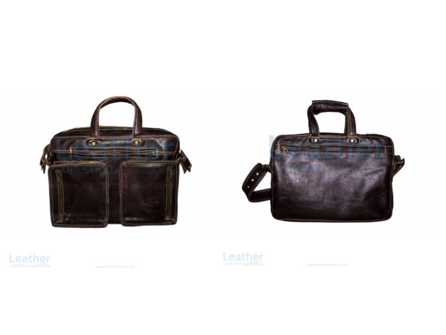 Retro Leather Laptop Bag