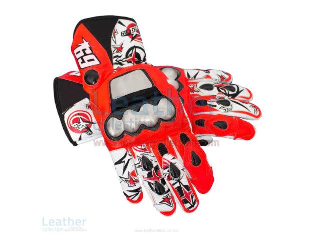 Nicky Hayden GP 2013 Motorbike Gloves