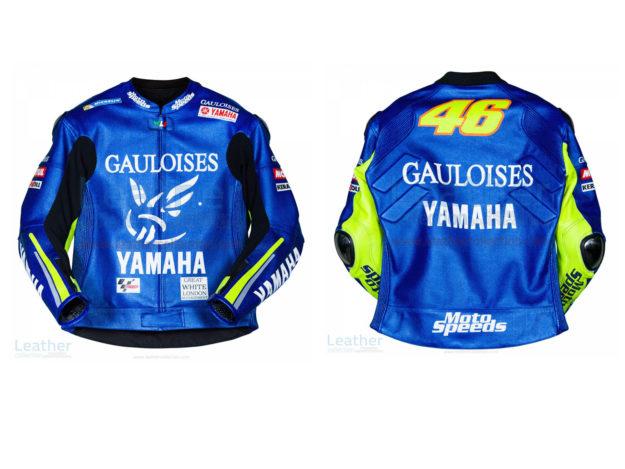 Valentino Rossi Yamaha MotoGP 2005 Leather Jacket
