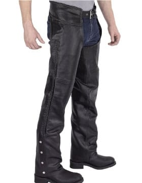 Leather Chaps Mens