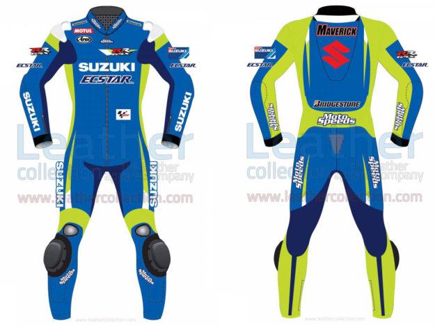 Maverick Vinale Suzuki MotoGP 2015 Leathers