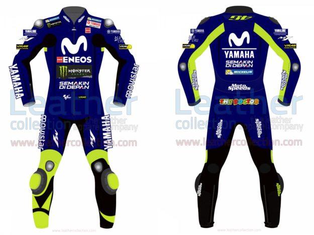 Valentino Rossi Movistar Yamaha Losail Circuit MotoGP 2018 Suit