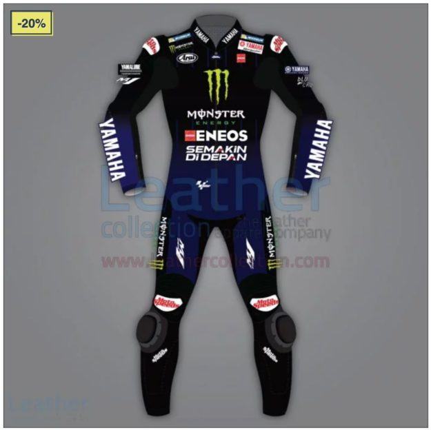 Maverick Vinales Yamaha Monster Racing Suit MotoGP 2020