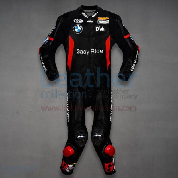 Leon Haslam BMW WSBK 2011 Leather Suit   Motorcycle Suits